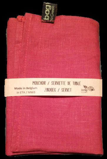 Mouchoir, serviette ou lingette en lin